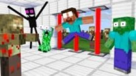 MONSTER SCHOOL : FUNNY ZOMBIE APOCALYPSE CHALLENGE – MINECRAFT ANIMATION