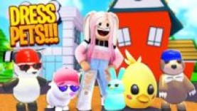 ADOPT ME DRESS PETS EASTER 2020 WITH PINKIEPOP GAMING ULTRA RARE HERO COSTUME