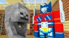 MONSTER SCHOOL : TRANSFORMERS CHALLENGE – MINECRAFT ANIMATION