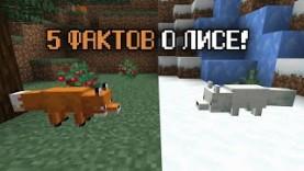 5 ФАКТОВ О ЛИСЕ – МАЙНКРАФТ