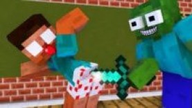 MONSTER SCHOOL : ROBBERY VILLAGER – MINECRAFT ANIMATION