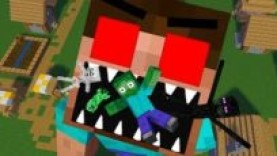 MONSTER SCHOOL : HEROBRINE BECAME VILLAIN – RIP ZOMBIE, SKELETON AND ENDERMAN
