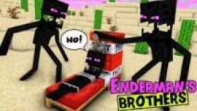 MONSTER SCHOOL : ENDERMAN'S BROTHERS MAKE TROUBLE IN MONSTER SCHOOL – SAD STORY