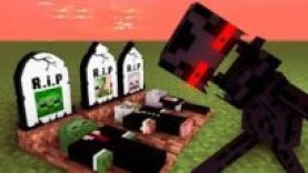 MONSTER SCHOOL : ENDERMAN BECAME VILLAIN – RIP ZOMBIE, SKELETON AND PIGMAN