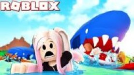 ROBLOX SHARKBITE WITH PINKIEPOP GAMING